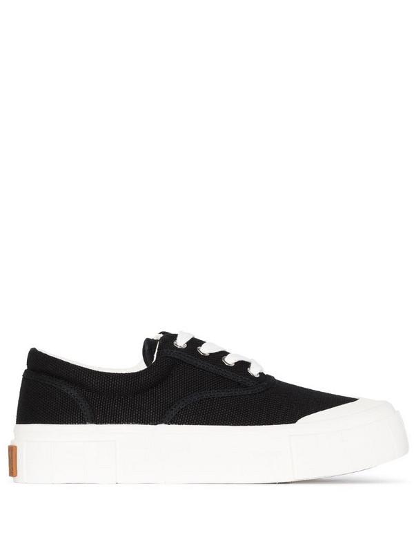 Good News Opal organic cotton sneakers in black