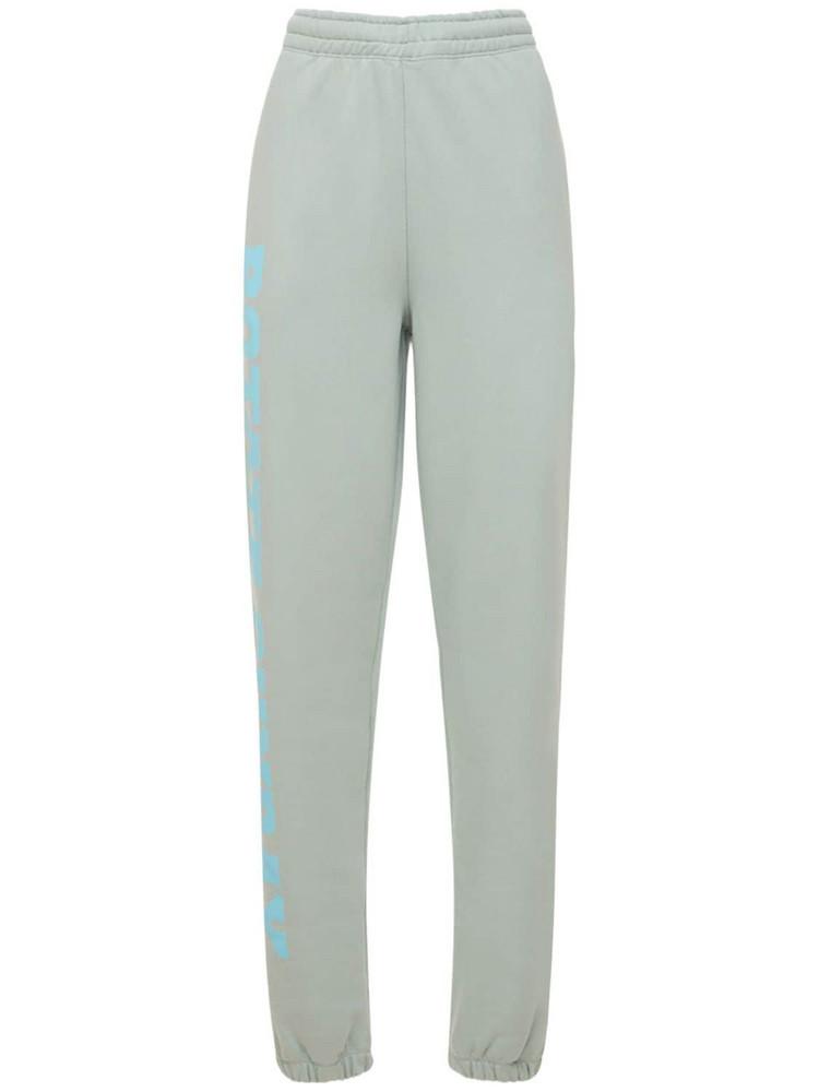 ROTATE Mimi Sunday Capsule Jersey Sweatpants in blue