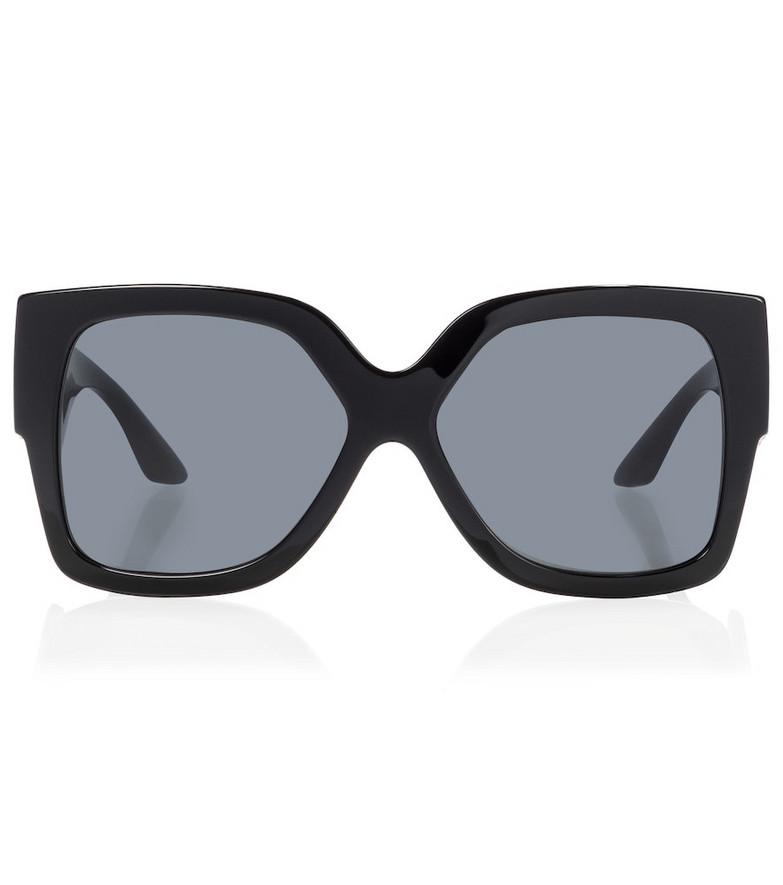 Versace Oversized sunglasses in black