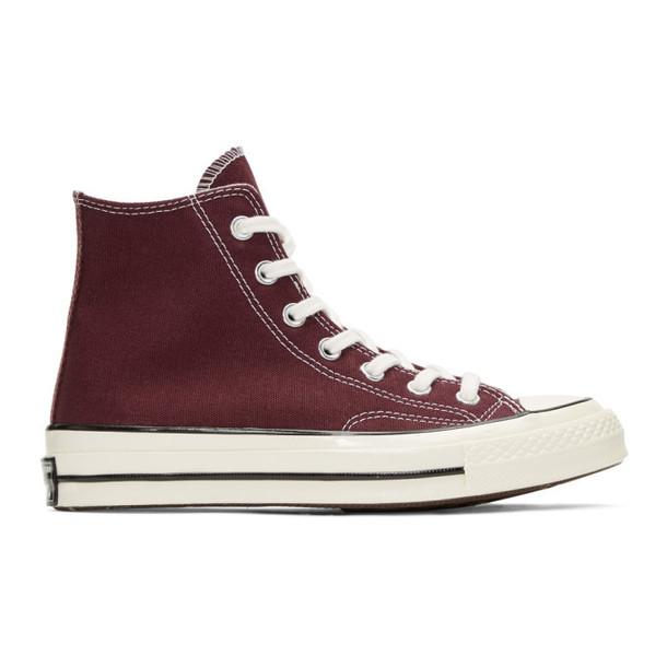 Converse Burgundy Chuck 70 High Sneakers