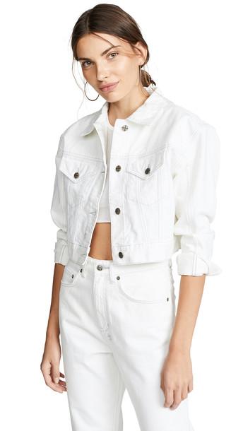 Ksubi Chalk Jett Jacket in white