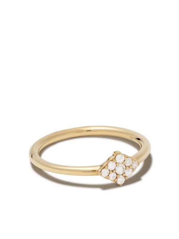 Astley Clarke 14kt yellow gold Interstellar cluster diamond ring