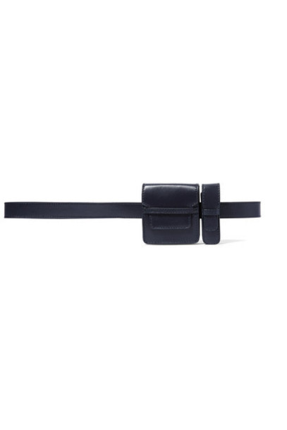 Gabriela Hearst - Leather Belt - Navy