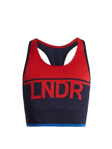 Lndr - A Team Performance Bra - Womens - Red Multi