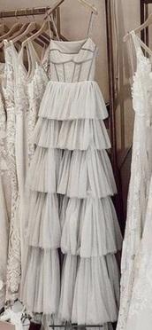 dress,bridal,evening dress,ruffle dress,chic,maxi dress