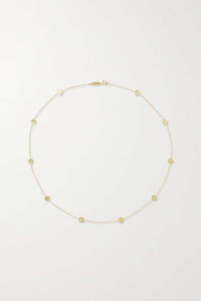 Jennifer Meyer - Circle-by-the-inch 18-karat Gold Necklace