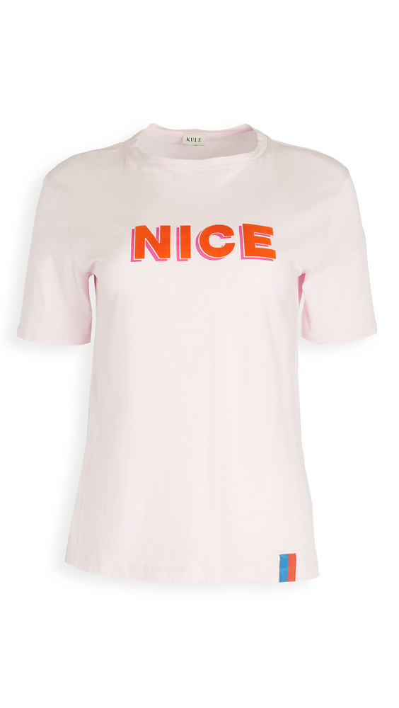 KULE The Modern Nice T-Shirt in pink
