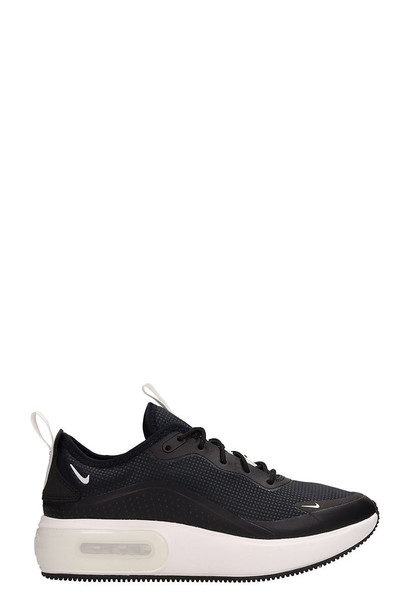 Nike Air Max Dia Sneakers Black Leather