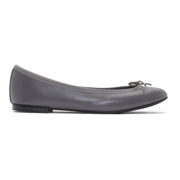 Repetto Grey Lili Ballerina Flats