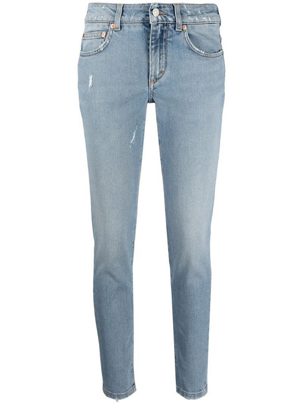 Givenchy mid-rise skinny jeans in blue