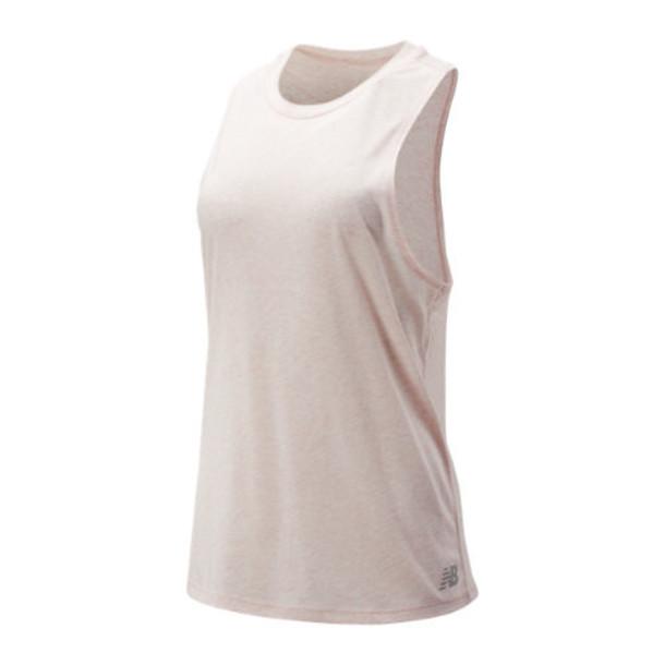 New Balance 91131 Women's Relentless Tank - Pink (WT91131PMH)