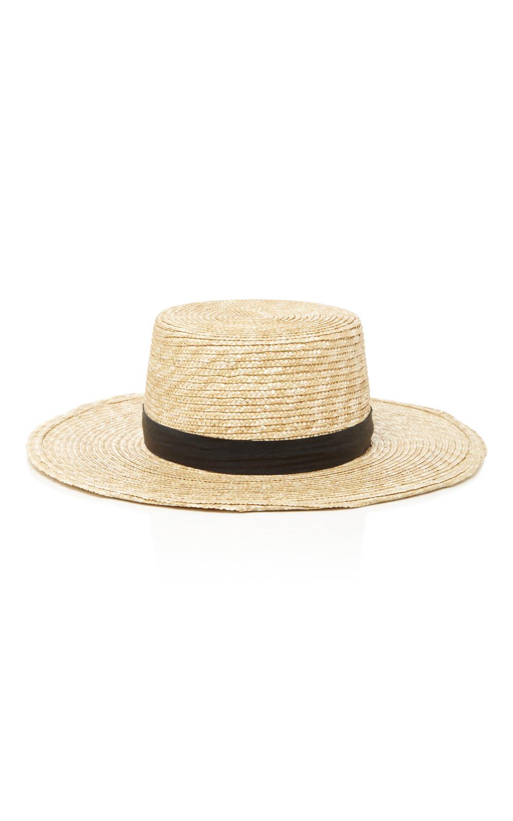 Janessa Leone Klint Bolero Hat in neutral