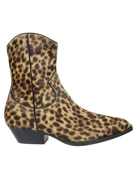 Philosophy di Lorenzo Serafini Leopard Print Ankle Boots