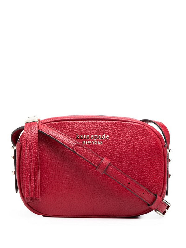 Kate Spade Roulette crossbody bag in red