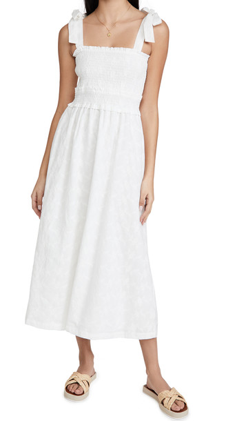 Lost + Wander Lost + Wander Angel In Disguise Maxi Dress in white