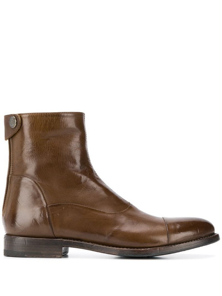 Alberto Fasciani Windy ankle boots in brown