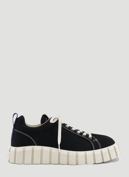 Eytys Odessa Canvas Sneakers in Black size EU - 38