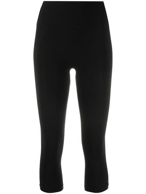 Filippa K Soft Sport cropped seamless leggings in black