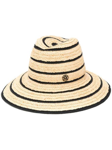 Maison Michel Kate hat in neutrals