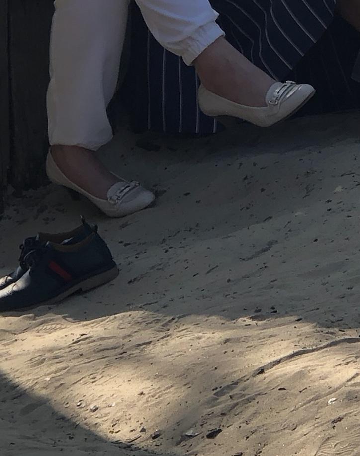 shoes cream high heels