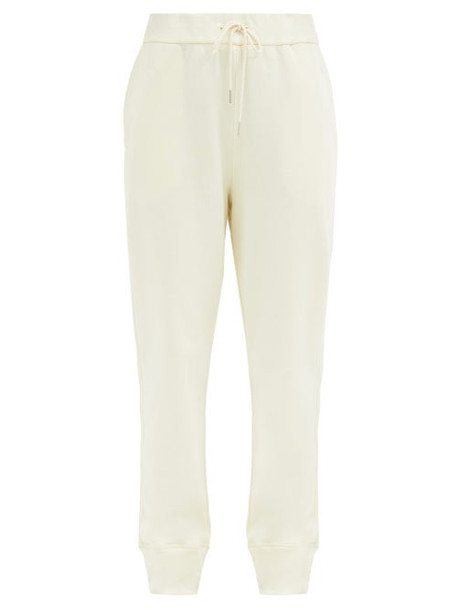 Jil Sander - Drawstring-waist Organic-cotton Track Pants - Womens - Ivory
