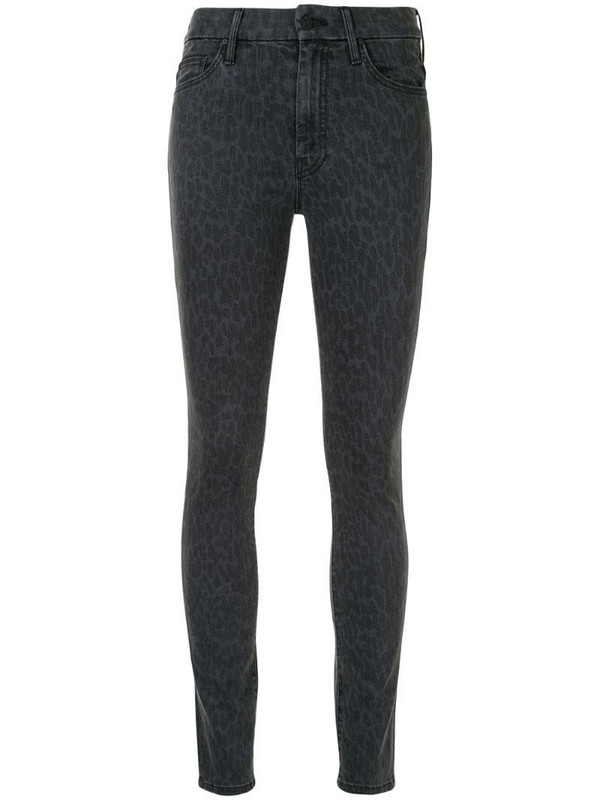 Mother The Looker skinny jeans in black