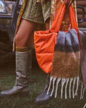 bag,shoes,shorts