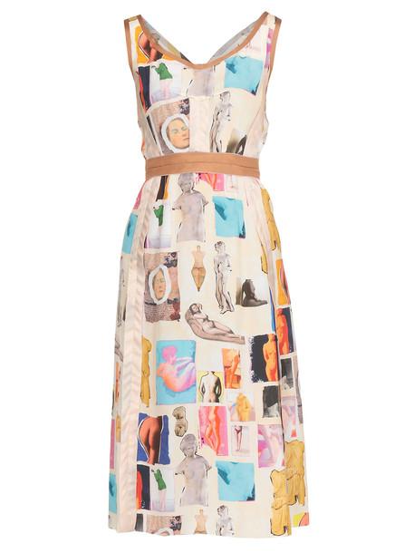 Marni Printed Fabric Dress