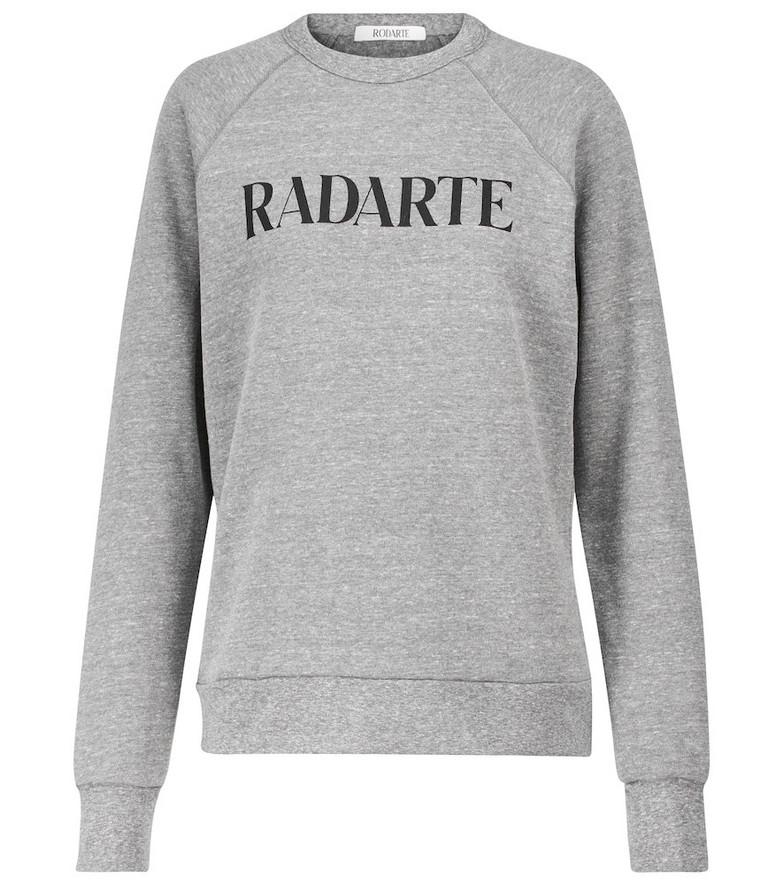Rodarte Radarte printed sweatshirt in grey