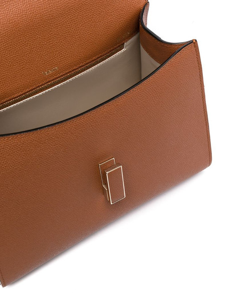 Valextra small tote bag in brown