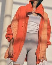 jacket,shorts