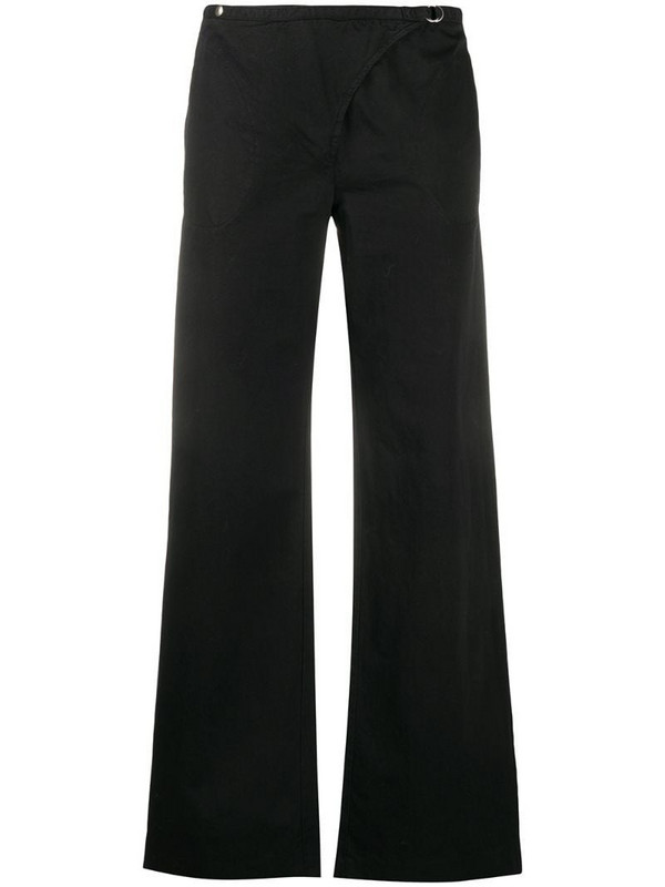 Maison Martin Margiela Pre-Owned 2000s wide-legged trousers in black