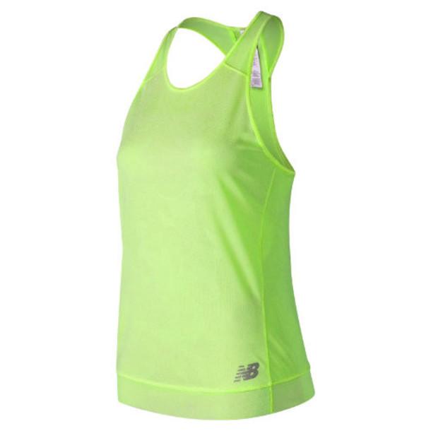 New Balance 91251 Women's Q Speed Breathe Tank - Green (WT91251BMA)