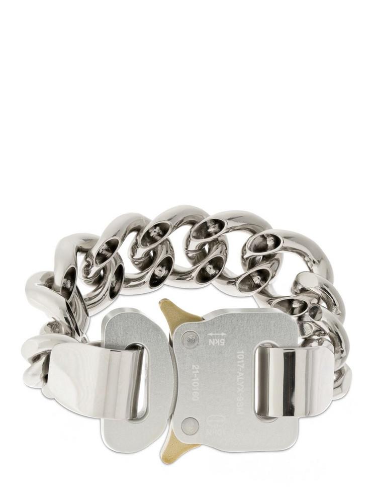 1017 ALYX 9SM Hero 4x Chain Bracelet in silver