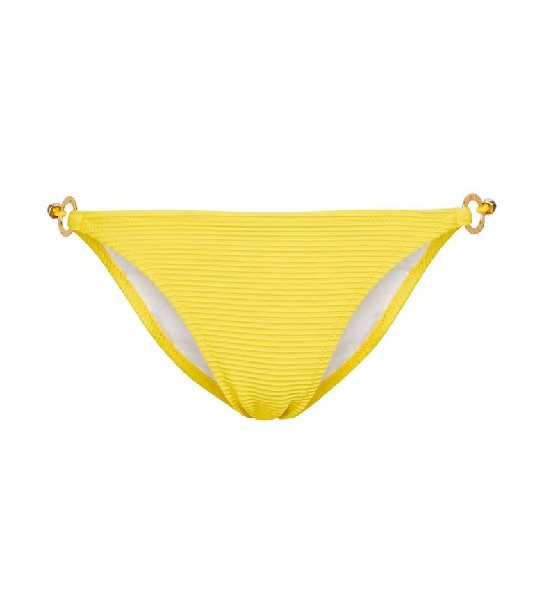Heidi Klein Cascais bikini bottoms in yellow