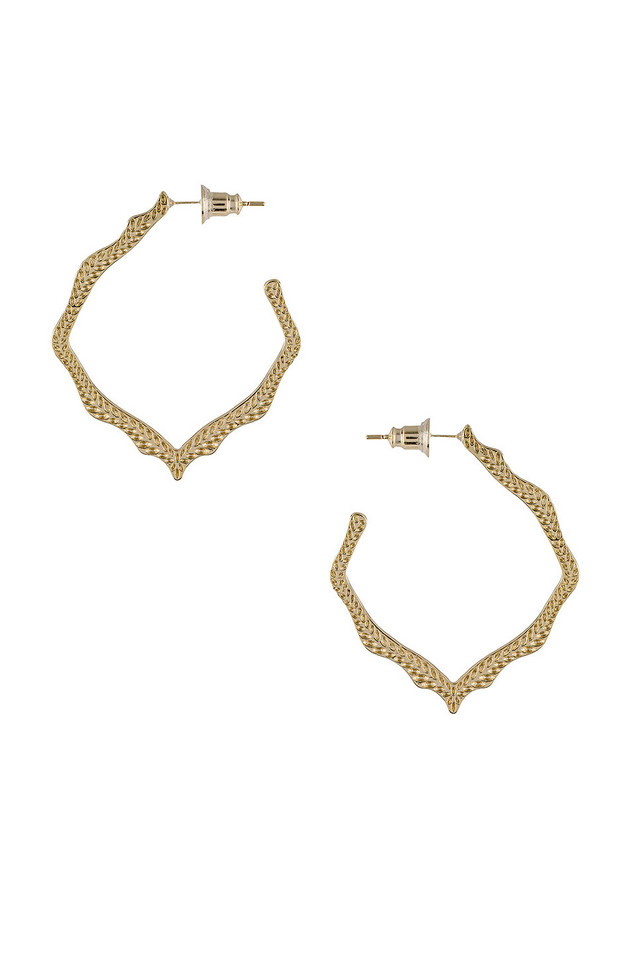 Kendra Scott Miku Earring in gold / metallic