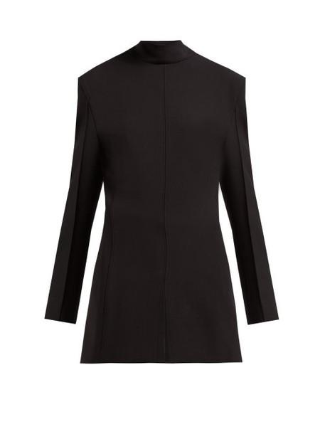 Jil Sander - Gehry Stretch Twill Blazer Dress - Womens - Black