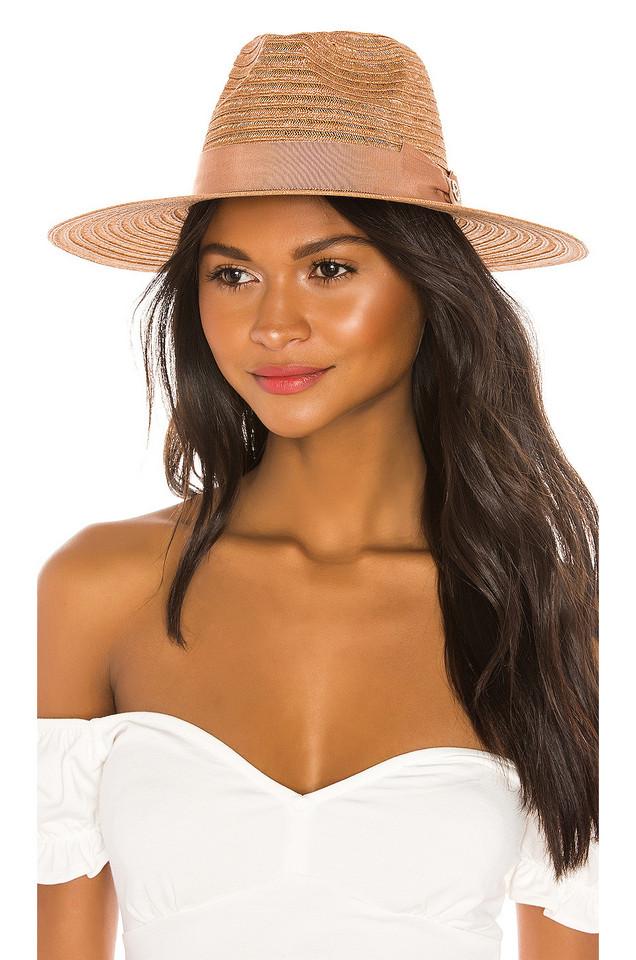 Don Paris Straw Hat in brown