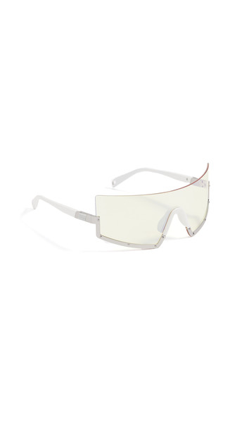 Westward Leaning Stun Sunglasses in white / yellow