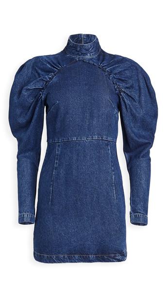 ROTATE Kim Dress in blue