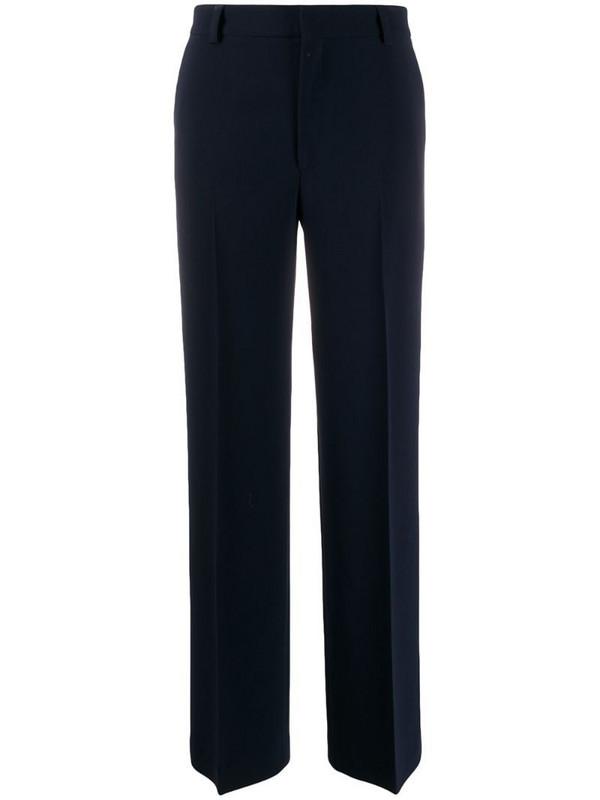 Filippa K Hutton straight-leg trousers in blue