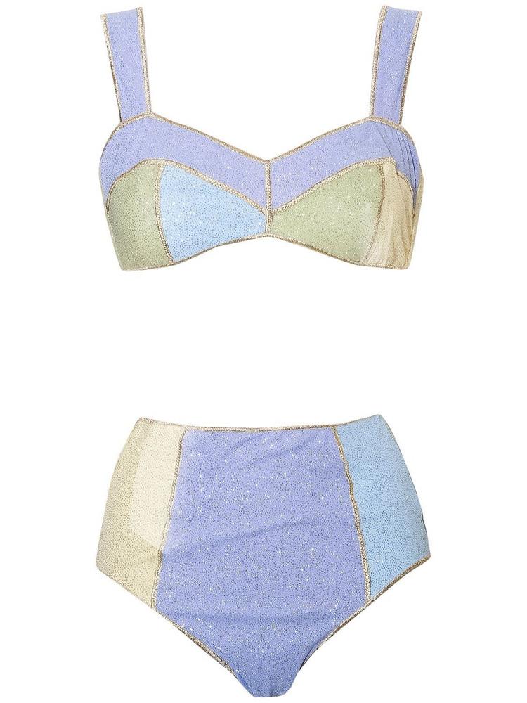OSÉREE SWIMWEAR Shine High Waisted Bikini Set