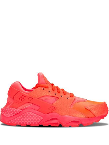 Nike Air Huarache Run PRM sneakers in pink