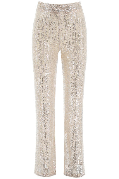 LAutre Chose Sequins Palazzo Trousers in silver