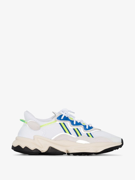 Adidas white Ozweego low top sneakers