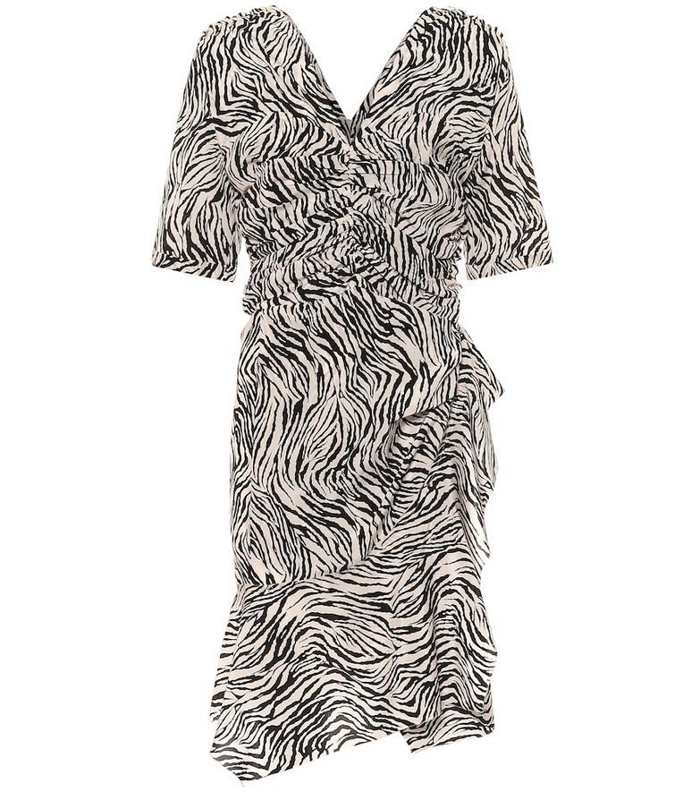 Isabel Marant Arodie stretch-silk minidress in black