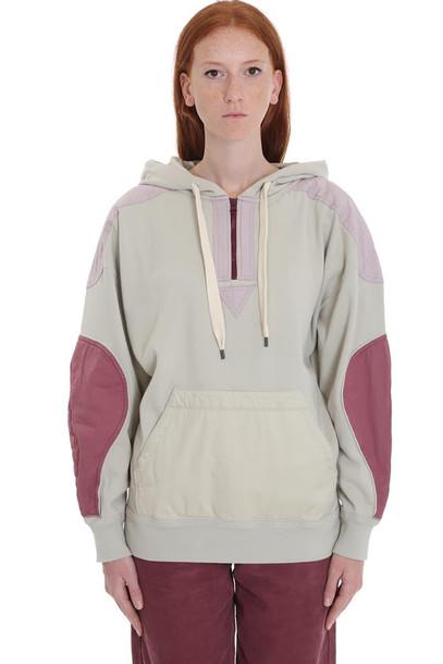 Isabel Marant Étoile Nansyl Sweatshirt In Beige Cotton