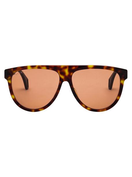 Gucci Sunglasses in black / orange