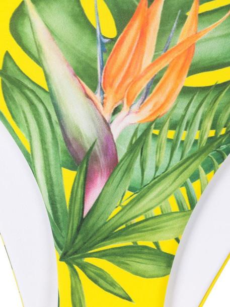Mc2 Saint Barth Yali side-tie bikini bottoms in yellow