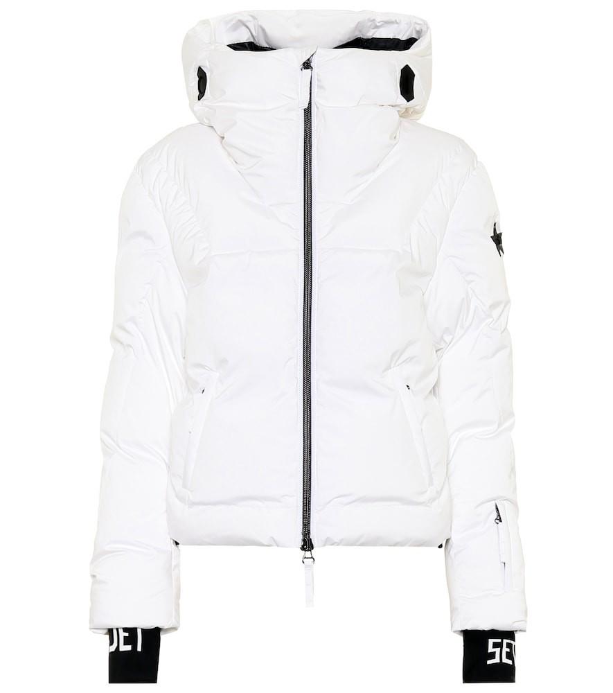 Jet Set Julia padded ski jacket in white